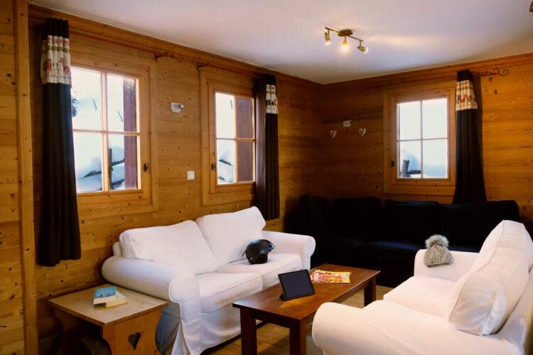 Chalet Lapin de Neige - Courchevel Moriond - Living room