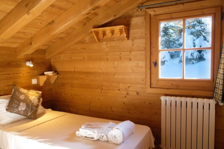 Chalet Ours de Neige - Courchevel 1650 - Bedroom