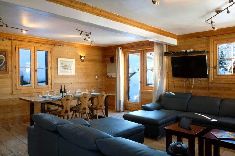 Chalet Ours de Neige - Courchevel 1650 - Living area