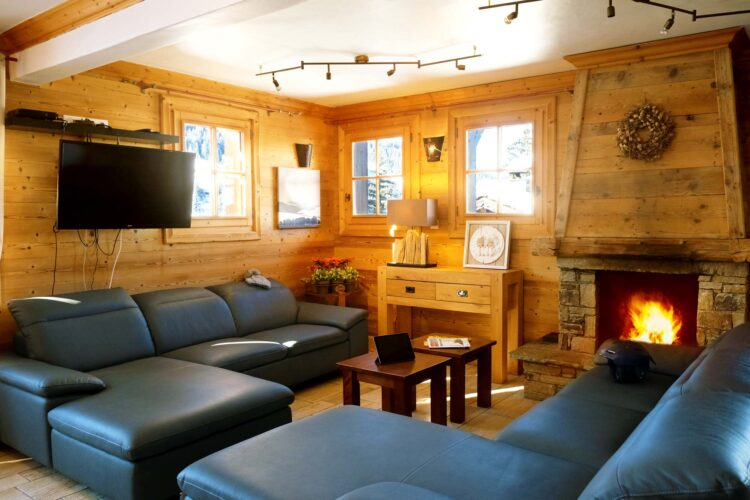 Chalet Ours de Neige - Courchevel 1650 - Living room