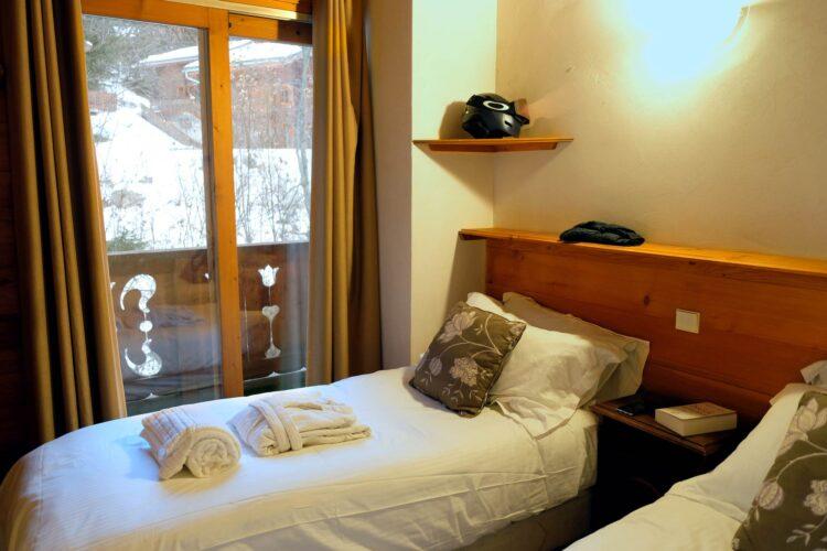 Chalet Lea - La Tania - Bedroom