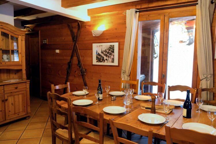 Chalet Lea - La Tania - Dining area