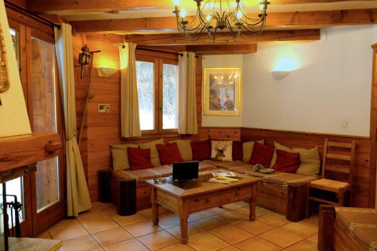 Chalet Lea - La Tania - Living room