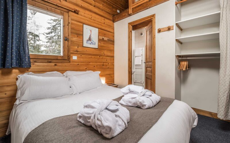 Chalet Morgane - La Tania - Bedroom