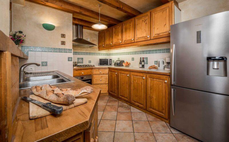 Chalet Morgane - La Tania - Kitchen