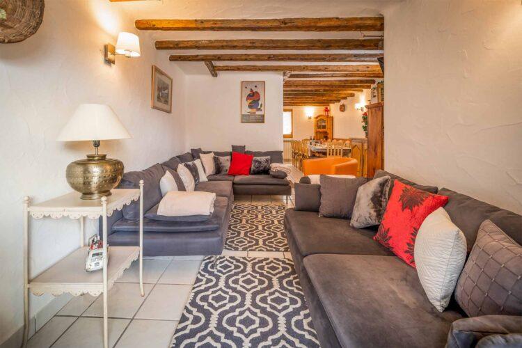 Chalet Charmille living room